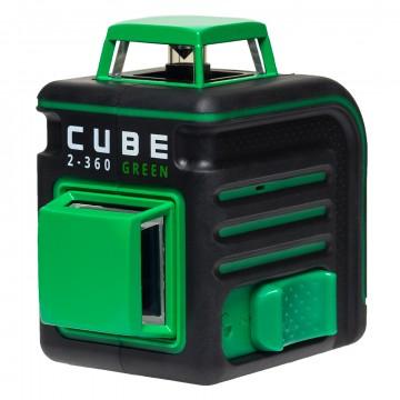 Лазерный уровень (нивелир) ADA CUBE 2-360 Green ULTIMATE EDITION